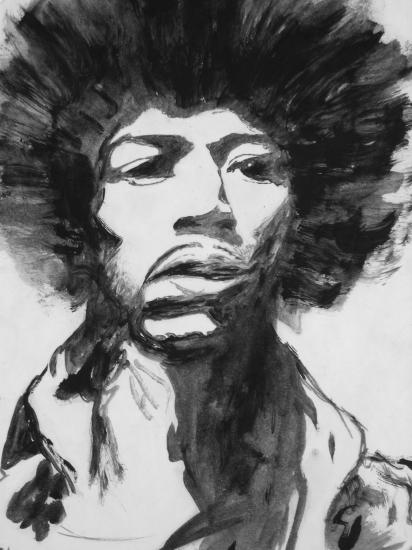 Jimi Hendrix por chikakx